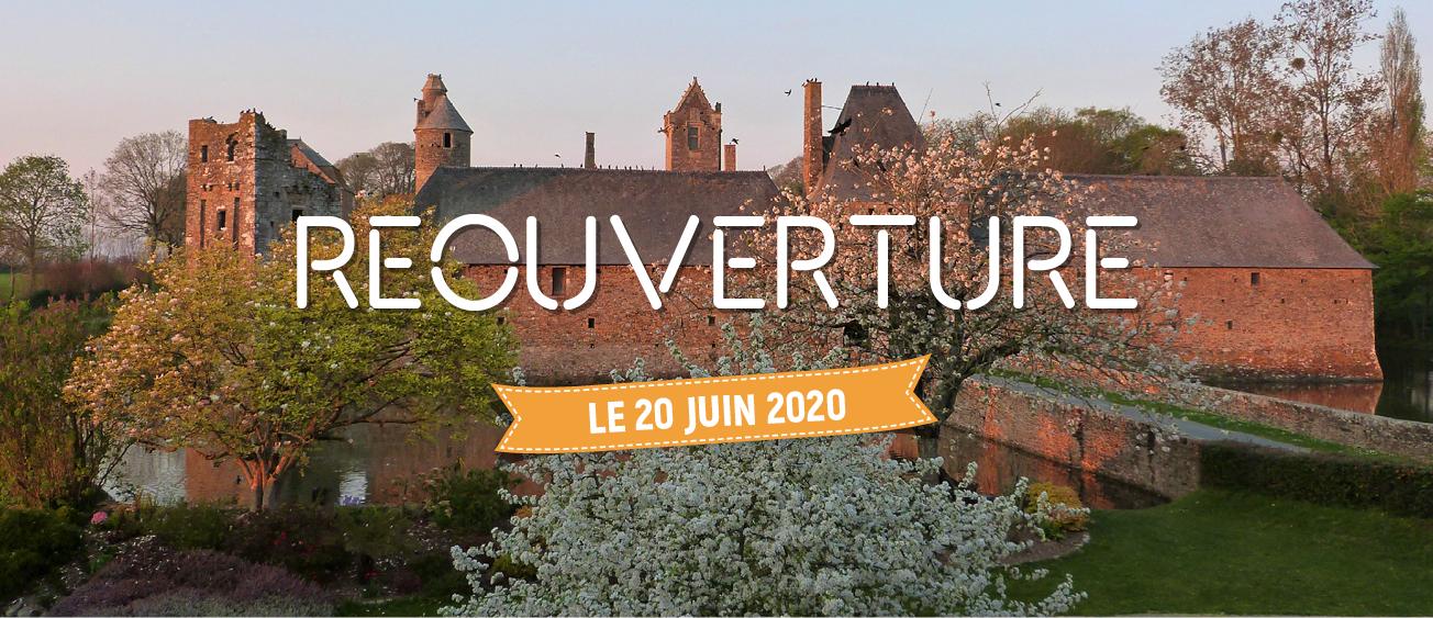 Réouverture Château de Gratot 20 juin 2020