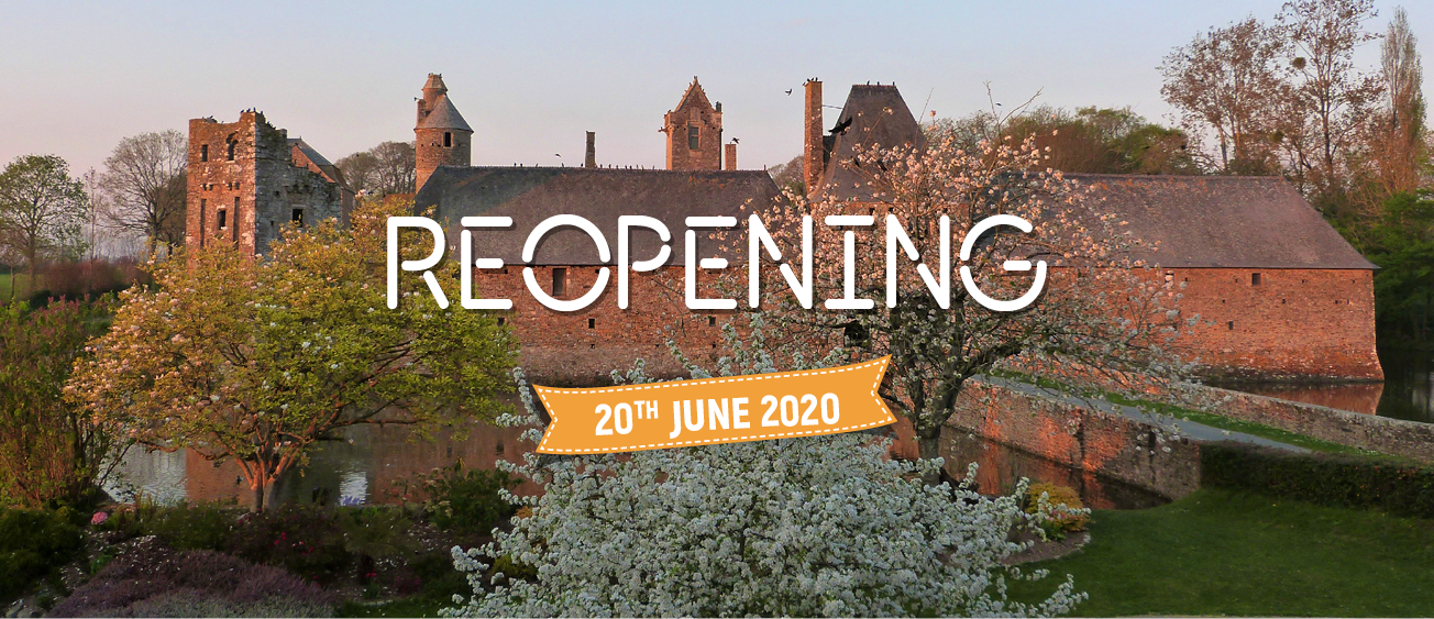 Gratot Castle reopening June 2020