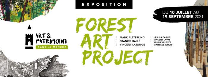 Forest Art Project au Château de Gratot